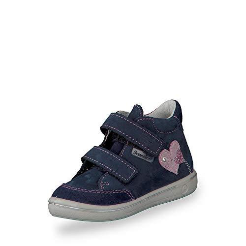 RICOSTA Pepino by Fille Bottes & Boots LARA, Bottes pour Enfants, Lassie Bottes,Bottes Velcro,imperméables à l'eau,Nautic,21 EU / 5 UK