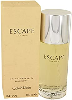 CK Escape men Eau De Toilette Spray 3.4 OZ.