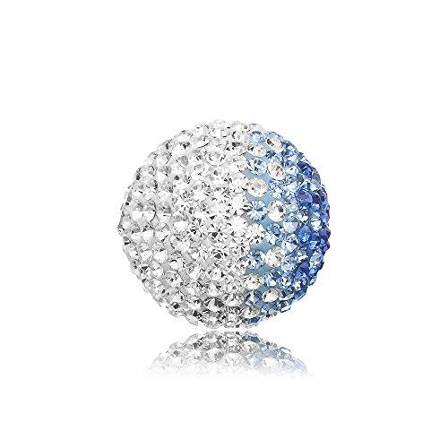 Engelsrufer Klangkugel Crystal blau / weiß S 14mm