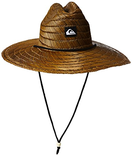 Quiksilver Men\'s Pierside Straw Sun Hat, Dark Brown, 2XL