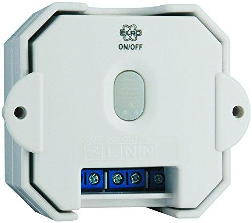 ELRO HIS20IS Funk-Einbauschalter für das Sicherheits und Heimautomationssystem