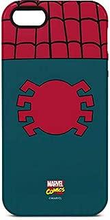 Skinit Pro Phone Case for iPhone 5/5s/SE - Officially Licensed Marvel/Disney Spider-Man Close-Up Logo Design