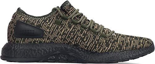 adidas Pureboost Herren Running Trainers Sneakers (UK 9 US 9.5 EU 43 1/3, Night Cargo CG2986)