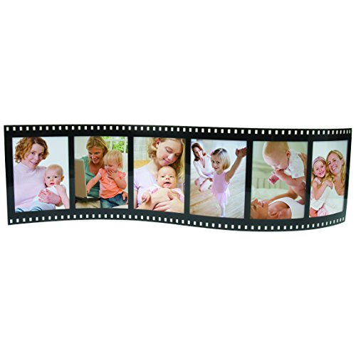 Horizontal Filmstrip Frame Wave Frames - Holds 3 Photos - Pack of 12