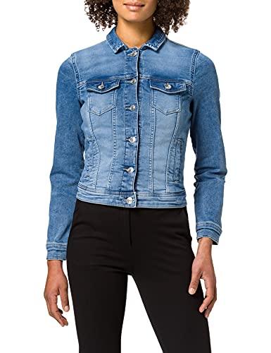 Only ONLTIA Life DNM Jacket Jogg BB PJQS434 Jeansjacke, Light Blue Denim, 40 para Mujer