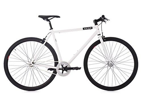 KS Cycling Fixie Fitnessbike 28\'\' Flip Flop weiß RH 56 cm