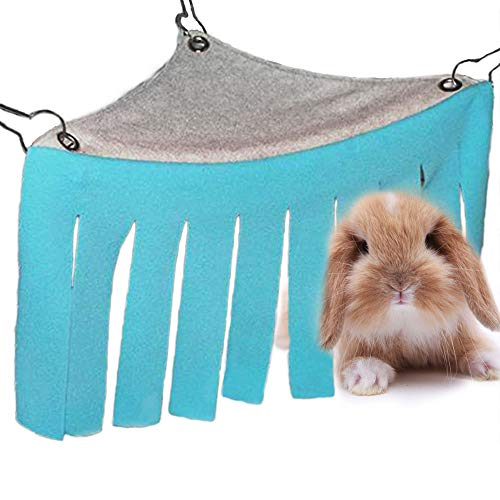 Oncpcare Pet Small Animals Hideout, Guinea Pig Hideout Hamster Hammock Hamster Bedding Hamster Hide Rat Cage for Small Animals, Mice, Hedgehog, Chinchilla