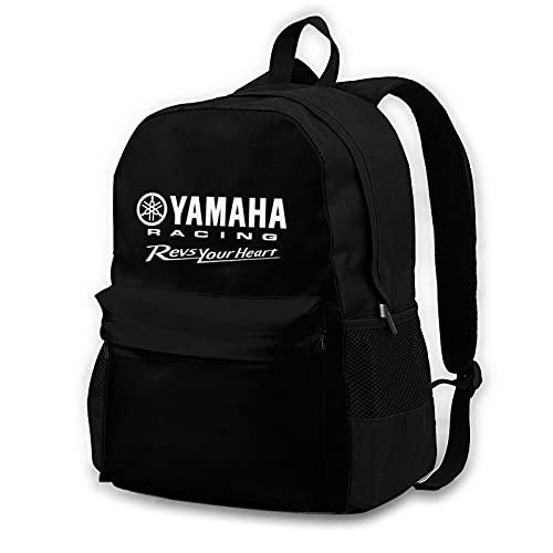 Zaino per computer portatile per adulti, personalizzabile e leggero, unisex, per weekend, escursioni, viaggi, con stampa Yam-Aha M-Otor Rac-Ing
