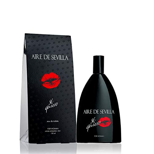 Si Quiero Aire de Sevilla - Agua de Tocador para Mujer, 150 ml