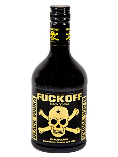 FUCK OFF Black Vodka 40% Schnaps 0,7l