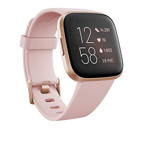 Fitbit Versa 2, el smartwatch que te ayuda a mejorar la salud y la forma física, y que incorpora...