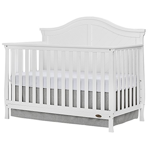 Dream On Me Kaylin 5 in 1 Convertible Crib, White