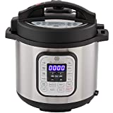 SilverOnyx 10-in-1 Programmable Pressure Cooker 6 Quarts with Stainless Steel Pot, Steamer & Warmer,...