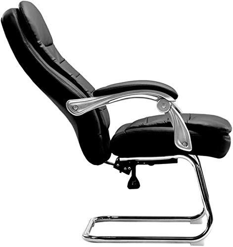 RUIMA Bürostuhl Computer Stuhl Exekutive Bürostuhl Computer-Bürostuhl Spiel Stuhl, Bow Leder verstellbare Rückenlehne Startseite Bequeme PU/Kuhfell