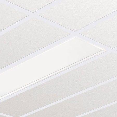 Philips rc127V Innenraum weiß–Lampe (Innenraum, AC, Weiß, Weiß, Rechteck, Kunststoff, Polycarbonat, Stahl)