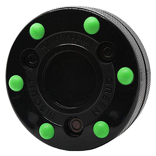 Green Biscuit Roller Puck