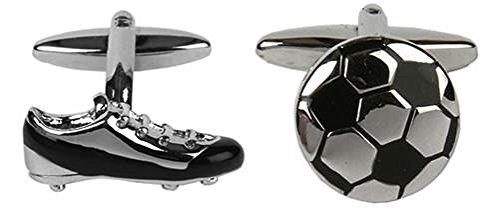 DLC Fußball & Stiefel Manschettenknopf