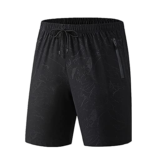 Hombres Pantalones Cortos rápidos de Verano Ropa Deportiva Jogger Playa