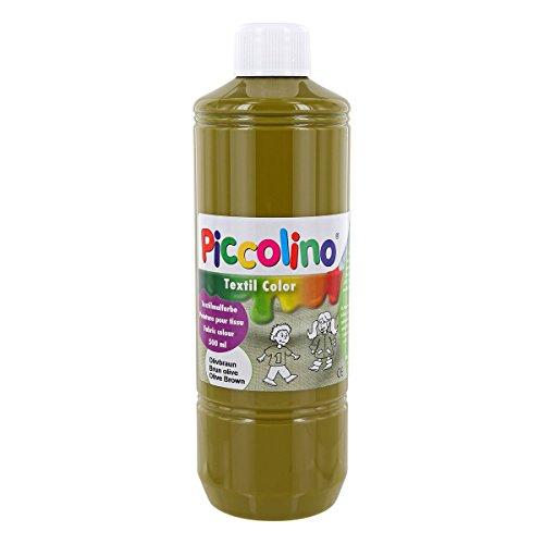 PICCOLINO Teinture textile Marron olive 500 ml