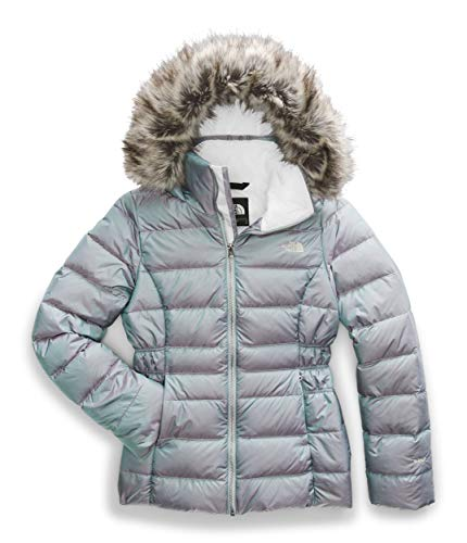 The North Face Women's Gotham Jacket II, Blue Frost Iridescent, Large