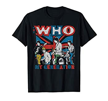 The Who Official My Generation Vintage T-Shirt