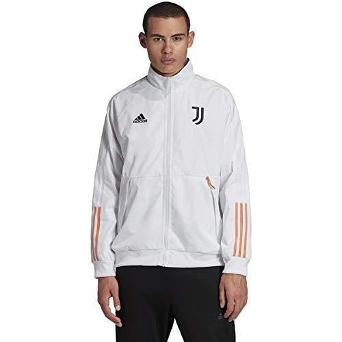 Adidas 2020-21 Juventus Anthem Jacket - White-Black L