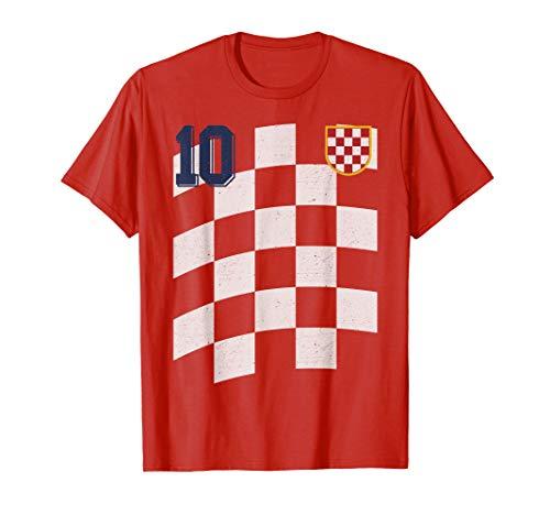 Kroatien or Croatia Fußball or Football Trikot T-Shirt