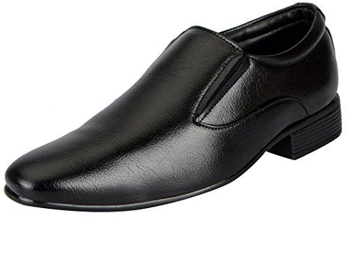 BATA Men's Black Synthetic Formal Slip On Shoes 851-6317-40