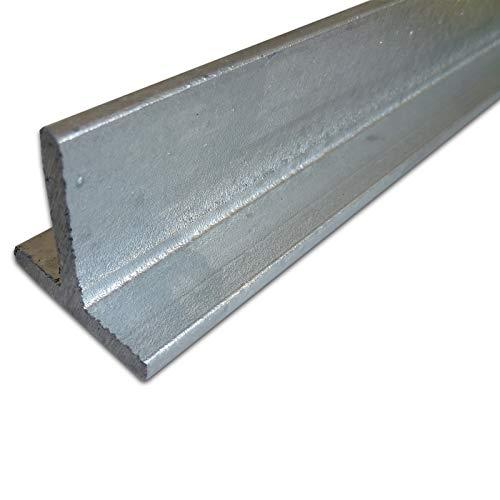 B&T Metall Stahl T-Profil VERZINKT 40 x 40 x 5 mm gleichschenklig in Längen à 2000 mm +/- 5 mm S235 (1.0038 ST37) T-Träger T 40 feuerverzinkt