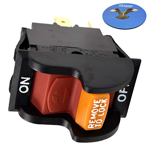 HQRP On-Off Toggle Switch Compatible with Delta 31-120 31-250 31-252 31-255X 31-340 31-460 31-695 31-750 31-780 SA350 SA446 SM500 Sander, 22-540 22-560 22-565 22-580 Planer + Coaster