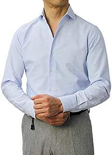 GIANNETTO ジャンネット AC146300L84 コットン オックス カッタウェイ シャツ