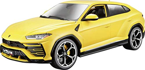 Bburago - 1811042Y- Lamborghini Urus 1/20 - Véhicule Miniature - Couleur Jaune