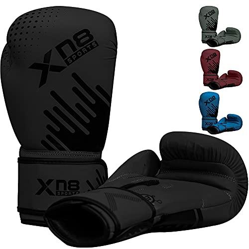 Xn8 Boxningshandskar Boxhandskar för kickboxning och bekämpning fokusdynor stansning för män kvinnor barn sparring träning