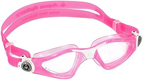 Aqua Sphere Kayenne Junior Goggles, Pink/White, Clear