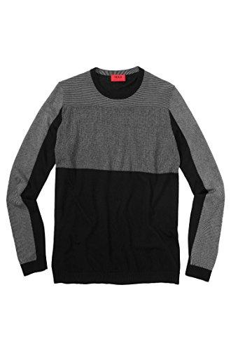 Hugo Pull Stover couleur Noir 001 - Noir -