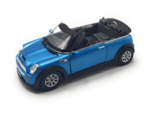 K Modellauto aus der Sammlung Mini Cooper s Convertible in Maßstab 1:28 (blau)