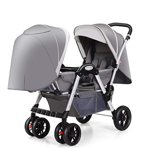 Why Choose ZZLYY Double Baby Stroller by – Twin Lightweight Infant Stroller with Carry Handle – ...