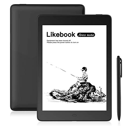 "Likebook Ares-Note E-Reader, 7.8"" Eink Carta Screen, Dual Touch, Hand Writing, Built-in Cold/Warm Light, Built-in Audible, Android 8.1, Octa Core Processor, 2GB+32GB"