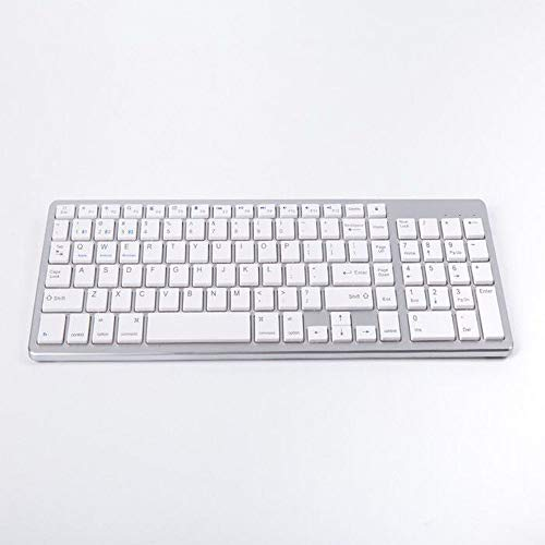 LaLa POP Tablet Teléfono Universal Aleación de Aluminio Bluetooth Keyboard Desktop Keyboard Keyboard Wireless Bluetooth Teclado