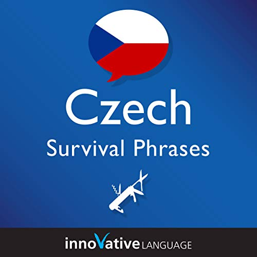 Learn Czech - Survival Phrases Czech, Volume 2 cover art