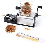 RWXCOW Maquina Liadora De Tabaco Entubadora Electrica para Cigarrillos De Papel De Liar Tubos De Cigarros Automático Portátil Accesorios De Cigarrillos para Liar Entubar Cigarrillos