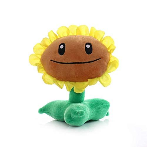 Juguetes de Plants vs.Zombies 1 Uds 18cm plantas juguetes de peluche plantas girasol muñeco de peluche suave para niños regalos para niños