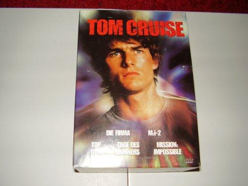 Tom Cruise Box : Die Firma,M:i 1+2 ,Top Gun und Tage des Donners / 5 DVD Box (2002)