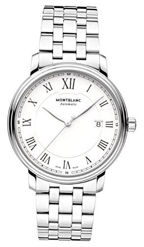 Montblanc Reloj Analógico para Hombre de Cuarzo con Correa en Acero Inoxidable 112610