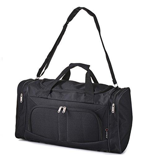 5 Cities leggero mano bagaglio a mano Sized Sport Duffel Borsone (farfalle nere)