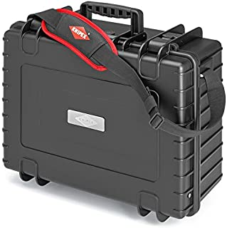 Knipex 00 21 36 LE Tool Case Robust34 Empty, Black