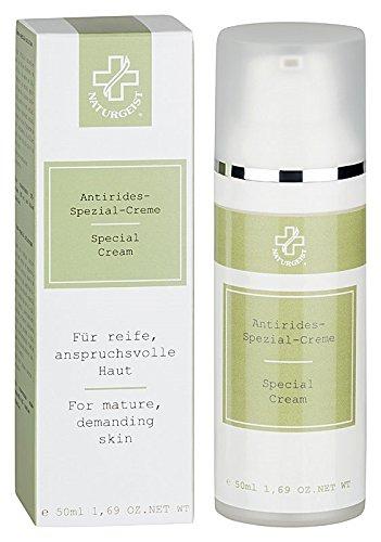Hagina Antirides-Spezial-Creme 50ml, Anti-Faltenpflege - Frei von Mineralölen, PEGs und chemischer Konservierung