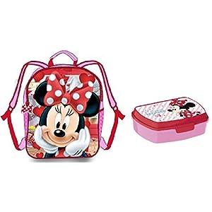 41cJKeT04bL. SS300  - Mochila Minnie - Fiambrera Minnie Disney