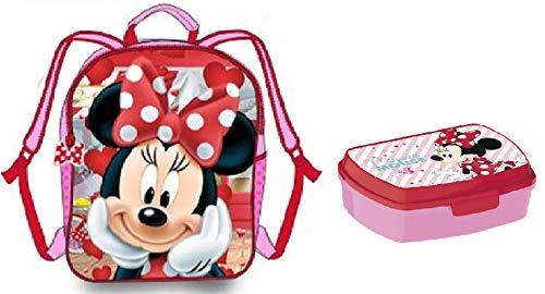 Mochila Minnie - Fiambrera Minnie Disney