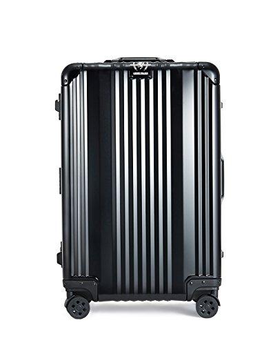 T&S スーツケース レジェンドウォーカー ハードケース メタルフレーム 88L ブラック 1510-70(BK)